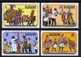 Barbados 1975 Crop-over Festival set of 4 unmounted mint, SG 531-34