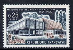 France 1965 20th Anniversary of Youth Clubs (Maisons des Jeunes et de la Culture) unmounted mint, SG 1677*