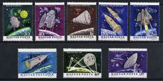 Hungary 1964 Space Research set of 8 unmounted mint, SG 1963-70