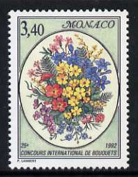 Monaco 1992 Monte Carlo 25th Flower Show 3f 40 unmounted mint, SG 2079