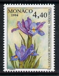Monaco 1994 Monte Carlo Flower Show 4f 40 unmounted mint, SG 2177