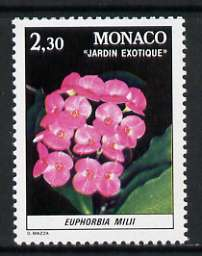 Monaco 1981 Euphorbia 2f 30 from Plants in Exotic Gardens set of 8 unmounted mint, SG 1551