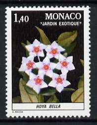 Monaco 1981 Hoya bella 1f 40 from Plants in Exotic Gardens set of 8 unmounted mint, SG 1547