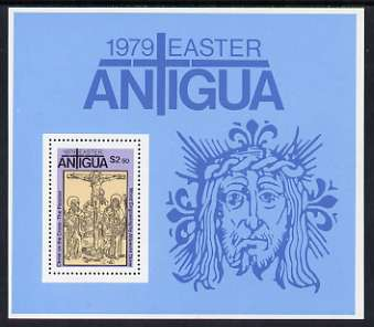 Antigua 1979 Easter - Works by Durer perf m/sheet unmounted mint, SG MS 611