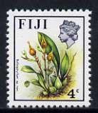 Fiji 1975-77 Birds & Flowers 4c (Bulbophyllum sp nov) unmounted mint, SG 508