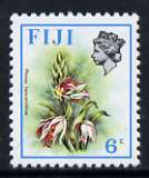 Fiji 1975-77 Birds & Flowers 6c (Phaius tancarvilliae) unmounted mint, SG 510