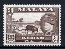 Malaya - Kedah 1957 Ricefield 4c (from def set) unmounted mint, SG 94