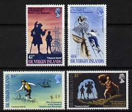 British Virgin Islands 1969 75th Death Anniversary of Robert Louis Stevenson perf set of 4 unmounted mint, SG 232-35