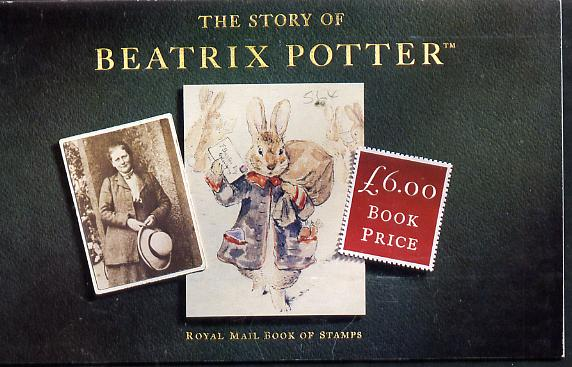 Booklet - Great Britain 1993 Beatrix Potter \A36 prestige booklet complete and very fine SG DX15