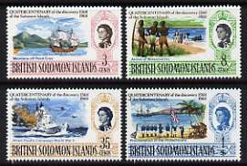 Solomon Islands 1970 Discovery perf set of 4 unmounted mint, SG 162-65