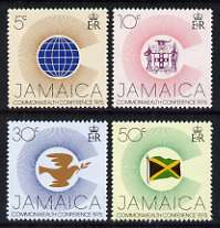 Jamaica 1975 Heads of Commonwealth Conference perf set of 4 unmounted mint, SG 397-400