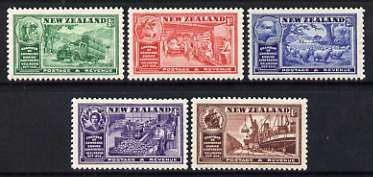 New Zealand 1936 Chamber of Commerce perf set of 5 unmounted mint, SG 593-97*