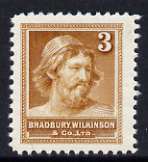 Bradbury Wilkinson 'Ancient Briton' unmounted mint dummy stamp in brown, superb example of the printer's engraving skill possibly produced as a sample*