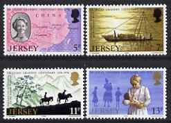 Jersey 1976 Birth Centenary of Dr Lilian Grandin (medical missionary)  perf set of 4 unmounted mint, SG 164-67