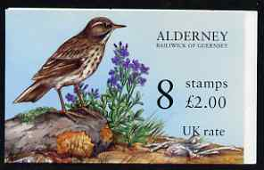 Booklet - Guernsey - Alderney 1997 Rock Pipit & Sea Stock �2.00 booklet complete and pristine SG ASB4