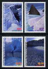 Australian Antarctic Territory 1996 Paintings by Christian Clare Robertson perf set of 4 unmounted mint, SG113-116