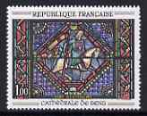 France 1965 800th Anniversary of Sens Cathedral unmounted mint, SG 1683