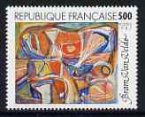 France 1987 Abstract by Bram van Velde 5f unmounted mint from Art set, SG 2773