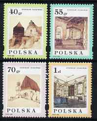 Poland 1996 Paintings by Stanislaw Noakowski set of 4 unmounted mint, SG 3630-33