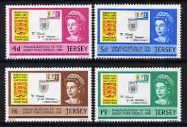Jersey 1969 Inauguration of Post Office set of 4 unmounted mint, SG 30-33