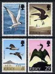 Jersey 1975 Sea Birds set of 4 unmounted mint SG 129-32