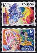 Spain 1984 Festivals set of 2 unmounted mint, SG 2757-58