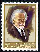 Hungary 1968 Kodaly (composer) commemoration unmounted mint, SG 2344