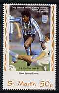 St Martin (Isles Of Scilly) 1996 Great Sporting Events - Football 50p - 1986-88 Cup Final, unmounted mint