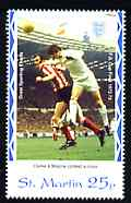 St Martin (Isles Of Scilly) 1996 Great Sporting Events - Football 25p - 1972-73 Cup Final, unmounted mint