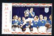 St Martin (Isles Of Scilly) 1996 Great Sporting Events - Football 10p - Victorious Plymouth Team 1938-39 Cup Final, unmounted mint