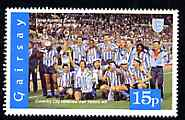 Gairsay 1996 Great Sporting Events - Football 15p - Coventry City Winners of 1986-87 Cup Final, unmounted mint