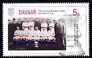 Davaar Island 1996 Great Sporting Events - Football 5p - Blackburn Winners of 1927-28 FA Cup Final, unmounted mint