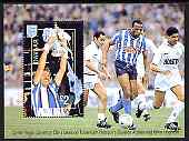 Davaar Island 1996 Great Sporting Events - Football \A32 perf m/sheet - Coventry City v Tottenham hotspur 1986-87 FA Cup Final, unmounted mint