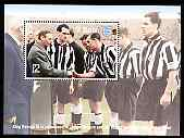 St Martin (Isles Of Scilly) 1996 Great Sporting Events - Football \A32 perf m/sheet - Newcastle United 1950-51 FA Cup Final, unmounted mint