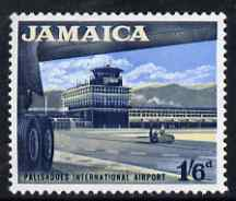 Jamaica 1964-68 Palisadoes International Airport 1s6d (from def set) unmounted mint, SG 227