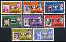 Khor Fakkan 1966 International Co-operation Year perf set of 8 cto used Mi 38-45