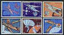 Yemen - Republic 1982 Progress in Air Transport perf set of 6 unmounted mint, SG 681-86