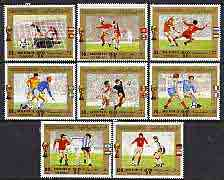Yemen - Republic 1980 Football World Cup perf set of 8 unmounted mint, SG 601-608