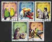 Cuba 2004 Domestic Animals perf set of 5 cto used*