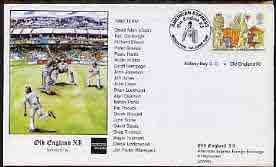 Great Britain 1999 illustrated cover for Botany Bay CC v Old England XI with special 'Cricket' cancel