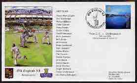 Great Britain 2000 illustrated cover for Troon CC v Old England XI with special