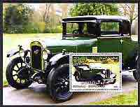 Somalia 2004 Early Cars #2 (Austin) perf m/sheet, fine cto used