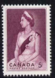 Canada 1964 Royal Visit 5c unmounted mint, SG 559*