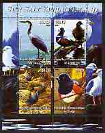 Congo 2004 Birds - Sur Salt Spring Island perf sheetlet containing 4 values fine cto used