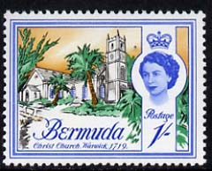 Bermuda 1962-68 Christ Church 1s (from def set) unmounted mint, SG 171