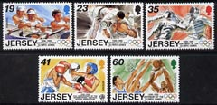 Jersey 1996 Sporting Anniversaries set of 5 unmounted mint, SG 746-50