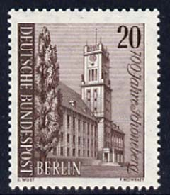 Germany - West Berlin 1964 700th Anniversary of Schoneberg 20pf unmounted mint, SG B227*