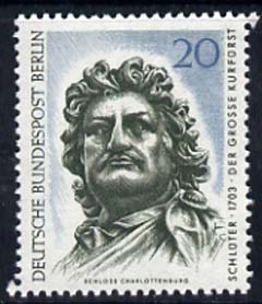 Germany - West Berlin 1967 Head of 'The Elector of Barandenburg' 20pf unmounted mint, from Art Treasures set of 6, SG B298