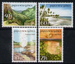 Papua New Guinea 1985 Tourist Scenes set of 4 unmounted mint, SG 491-94