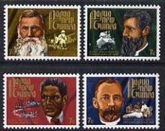 Papua New Guinea 1972 Christmas (Missionaries) set of 4 unmounted mint, SG 227-30